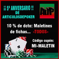 Descuentos maletines poker