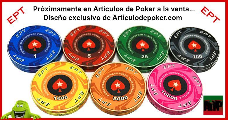 Fichas de poker de cerámica European Poker Tour