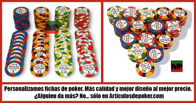 Personalización de fichas de poker Clay tritono