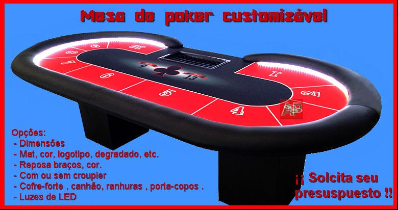 Mesas de poker customizaveis