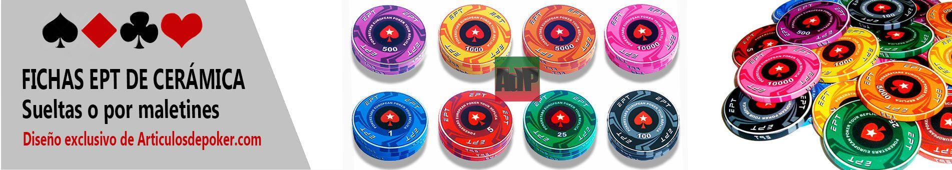 Fichas de cerámica EPT