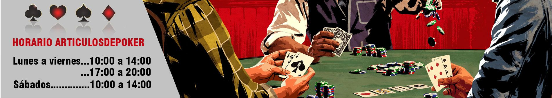 Horarios Articulos de poker